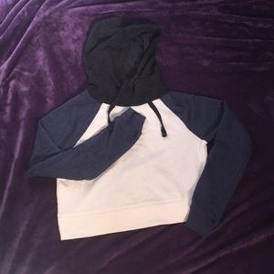*Hot* Color Block Women's Cropped Hoody size XS